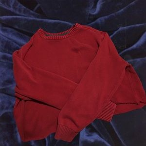 Jackets & Blazers - Comfy Cropped Red Cardigan